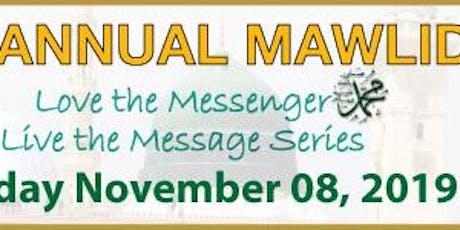 11th Annual Mawlid tickets