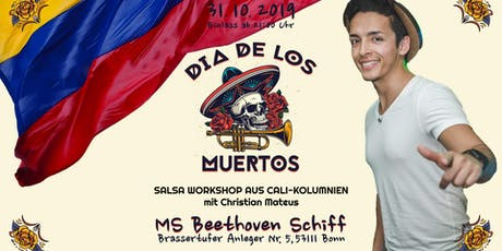 Día de los Muertos - SALSA WORKSHOP AUS CALI-KOLUMNIEN Tickets