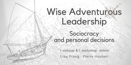Wise Adventurous Leadership tickets