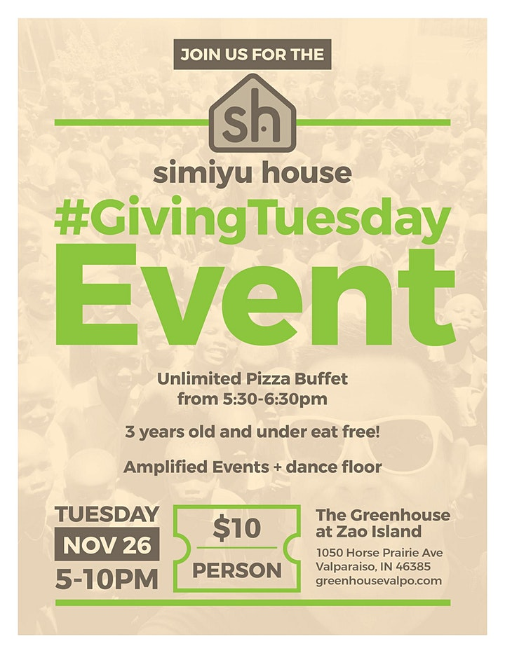 Simiyu House #GivingTuesday Event image