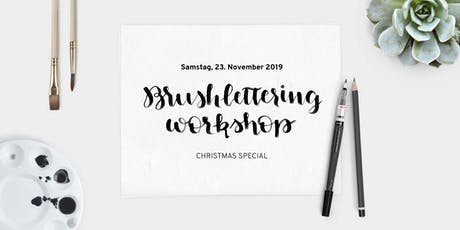 Brushlettering Workshop – Christmas Special Tickets