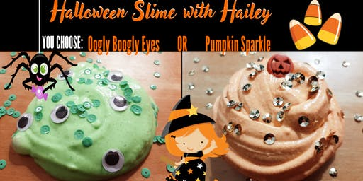 Halloween Slime by Young Entrepreneur Hailey