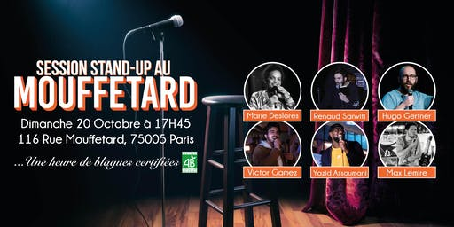 Session Stand-Up au Mouffetard #4