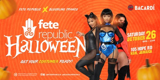 Fete Republic Halloween