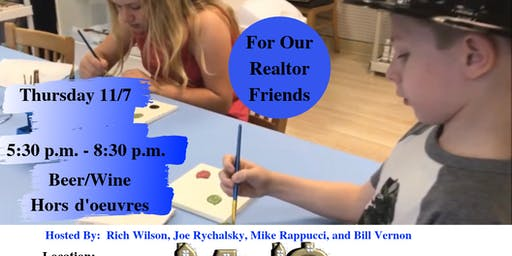 Enjoy A Night Of Pottery And Painting