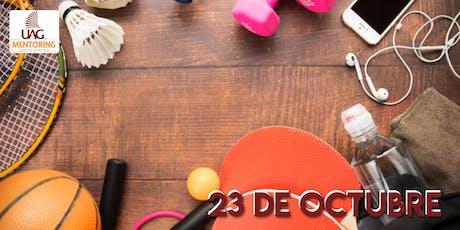 Evento 23 de Octubre  / Apoyo Deportivo (Apoyo Mentoring) entradas