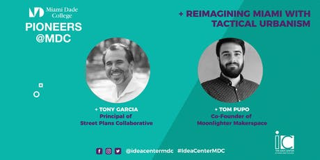 A Conversation with Tony Garcia and Tom Pupo at Pioneers at MDC tickets