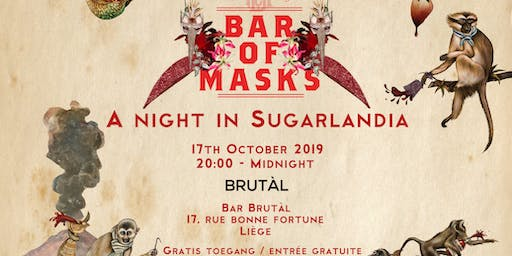 Bar Of Masks Liège