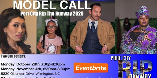 MODEL CALL- Port City Rip The Runway 2020
