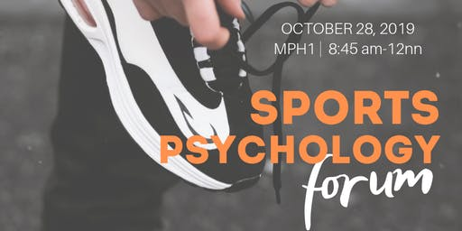 SPORTS PSYCHOLOGY FORUM