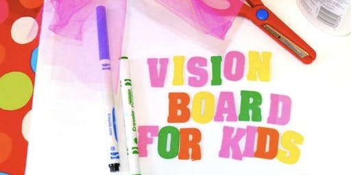 Kids Vision Board Party