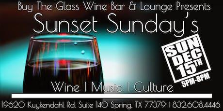 Sunset Sunday's   LIVE MUSIC & Wine tickets
