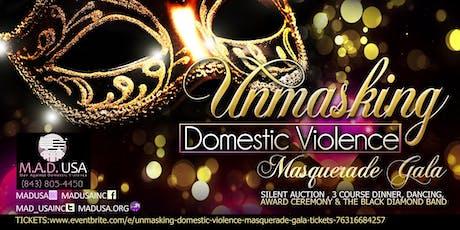 Unmasking Domestic Violence Masquerade Gala tickets