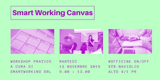 Smart Working Canvas | Workshop sul lavoro agile
