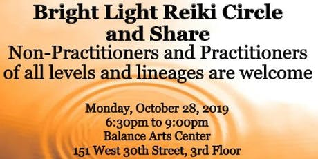 Bright Light Reiki Circle/Share tickets