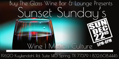 Sunset Sunday's | MUSIC & Wine