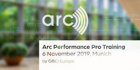 Arc Performance Pro Training Tickets