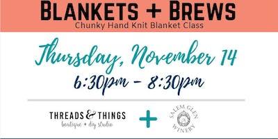 Blankets + Brews at Salem Glen Winery (11/14 at 6:30p)
