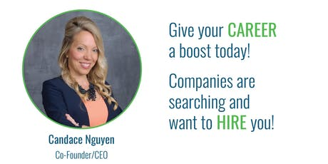 Get a Career Boost! A platform for healthcare providers searching for employment opportunities. By: CuraConnector.com tickets