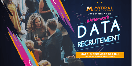 #Afterwork Data Recrutement billets