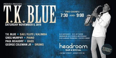 TK Blue performs selections from The Rhythm Continues   tickets