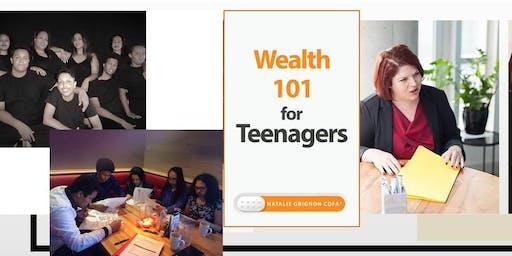 Workshop, Wealth 101 for Teenagers