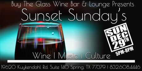 Sunset Sunday's | LIVE MUSIC & Wine tickets