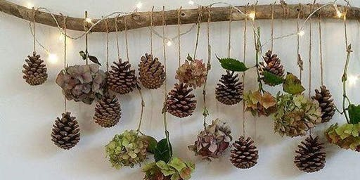 Pinecone Wall Art Workshop