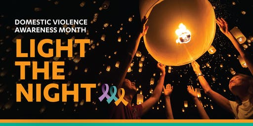 Light the Night - Domestic Violence Awareness Month
