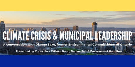 Climate Emergency & Municipal Leadership tickets