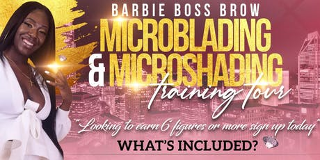 Microblading Two Day Training Course - $899 tickets