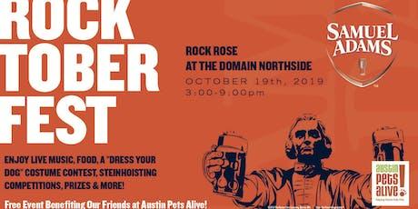 3rd Annual Samuel Adams Rocktoberfest tickets