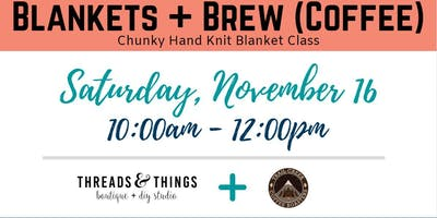 Blankets + Brew (Coffee) at Trail Creek Coffee Roasters (11/16 at 10a)
