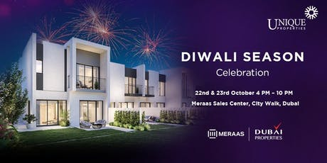 Diwali Season Celebrations With Meraas & Dubai Properties tickets