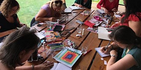 Cycle Auto-bien-être avec le Journal créatif billets