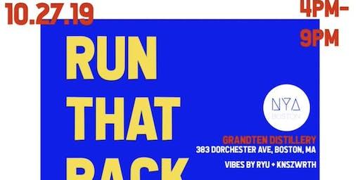 #RunThatBack