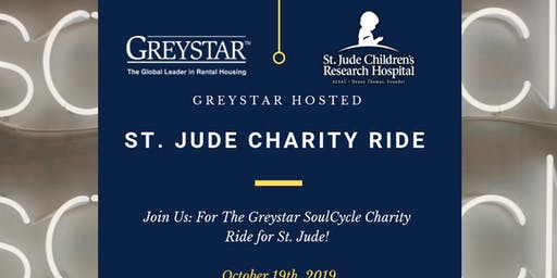 Greystar SoulCycle Charity Ride for St. Jude