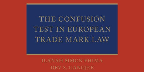 Book Launch: The Confusion Test in European Trade Mark Law tickets