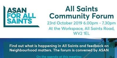 All Saints Community Forum