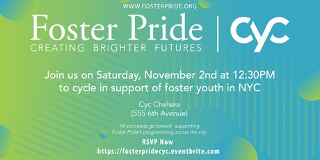 Foster Pride Charity Ride @ Cyc Chelsea tickets