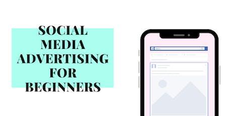 Social Media Advertising Workshop for Beginners tickets