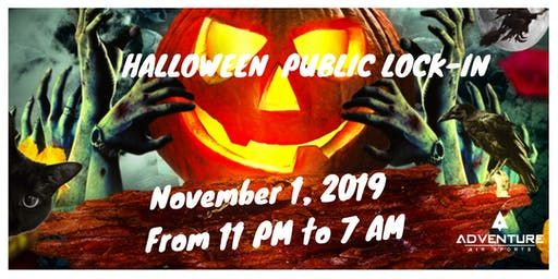 Adventure Air Sports Presents: Halloween Public Lock In