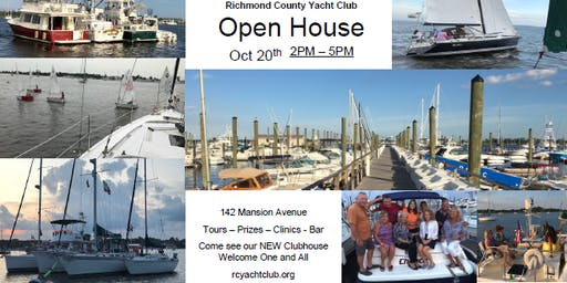 Open House - Richmond County Yacht Club - Great Kills Harbor, Staten Island