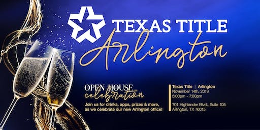 Texas Title Arlington Grand Opening