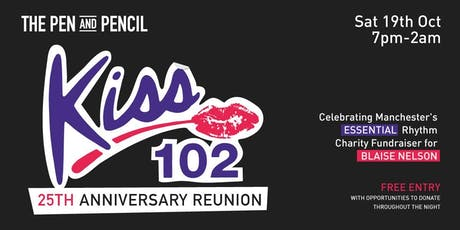 Kiss 102 - 25yr Reunion tickets