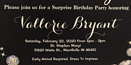 Shhhhhh It's A Suprise Party tickets