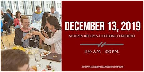 Diploma & Hooding Luncheon: Autumn 2019 tickets