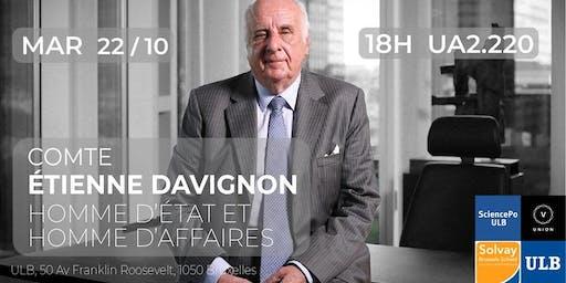 Comte Etienne Davignon | Homme d'affaires et Ministre d'État