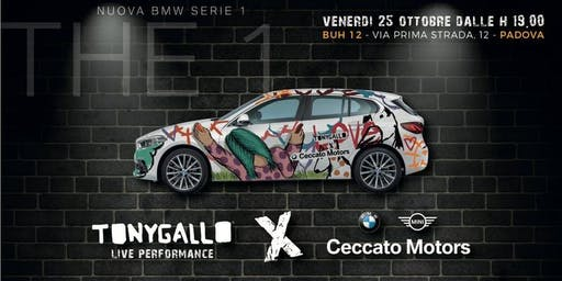 Tony Gallo Live Performance x Ceccato Motors