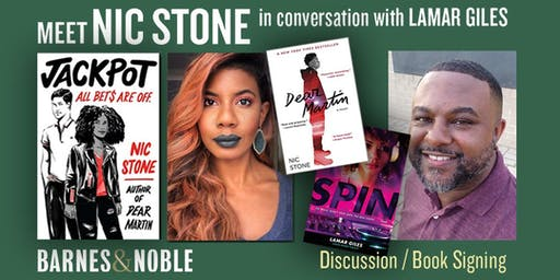 Meet Nic Stone in Conversation with Lamar Giles